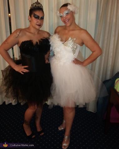 disfraces caseros peliculas cisne negro