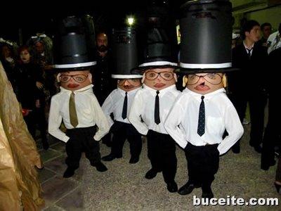 disfraces grupo caseros enanos