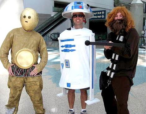 disfraces grupo caseros guerra galaxias