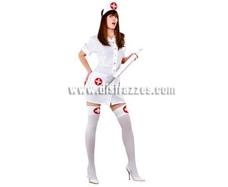 disfraces mujer despedida enfermera