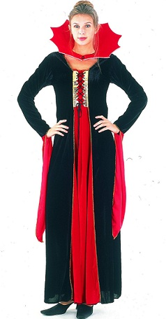 disfraces mujer halloween vampiresa
