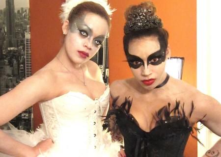 disfraces caseros halloween grupos cisne negro