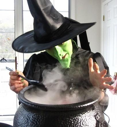 disfraces caseros halloween mujer bruja