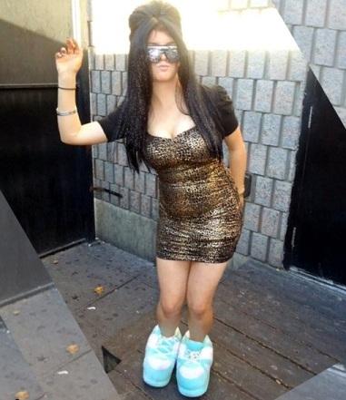 disfraces caseros halloween mujer snooki