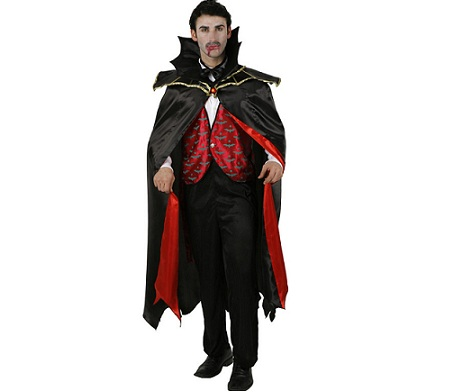 disfraces halloween baratos vampiro