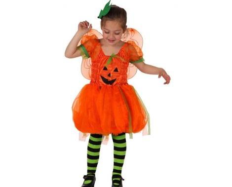 disfraces halloween ninos calabaza