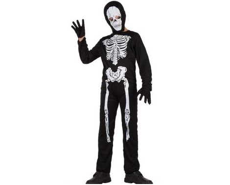 disfraces halloween ninos esqueleto