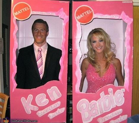 disfraz barbie casero ken