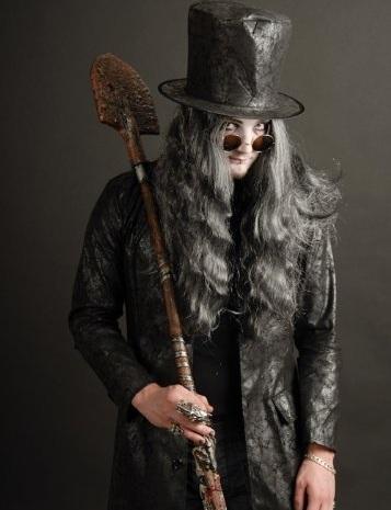 disfraz helloween casero adulto enterrador