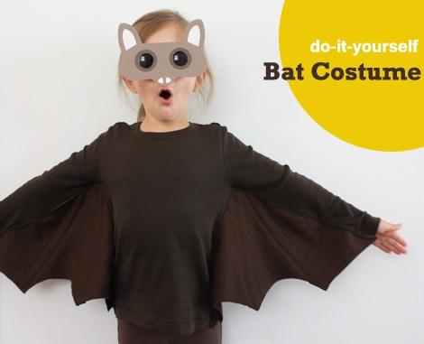 disfraz halloween niño casero murciélago