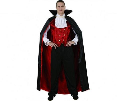 disfraz vampiro chaleco