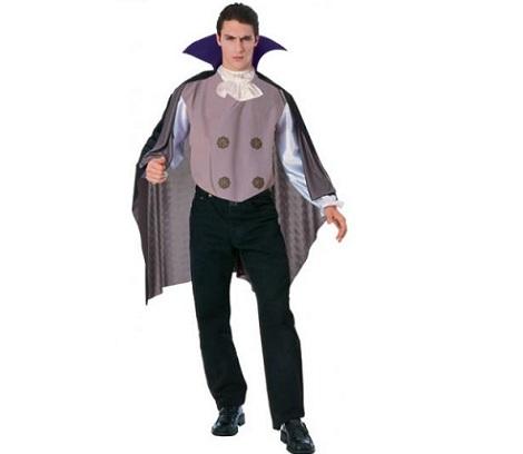 disfraz vampiro morado