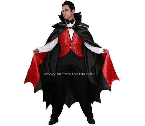 disfraz vampiro rojo