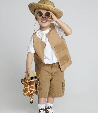 los mejores disfraces caseros niño explorador