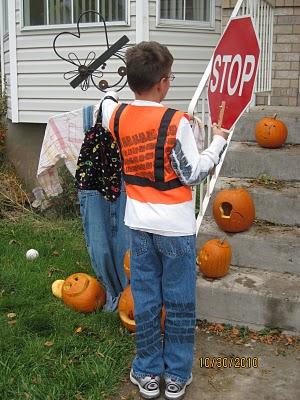 los mejores disfraces caseros niño guia trafico