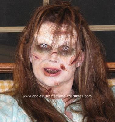5 disfraces caseros mujer halloween niña exorcista