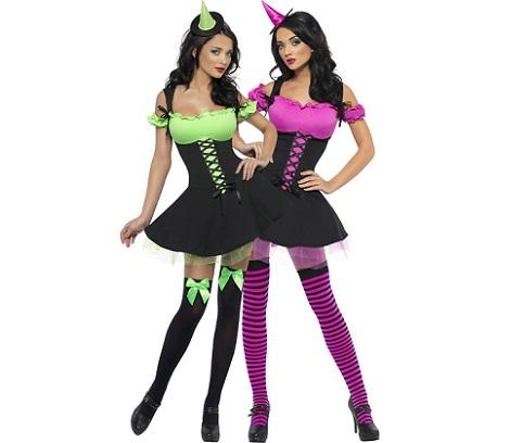 7 Disfraces de Halloween para parejas brujas