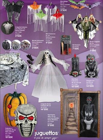 catálogo juguettos halloween 2012 decoración