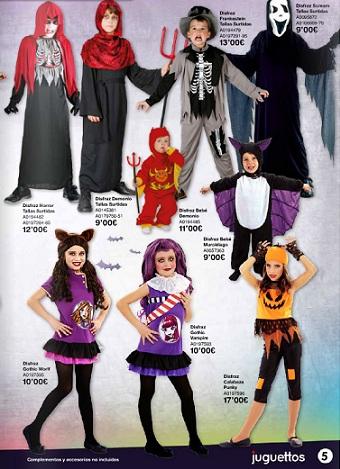 catálogo juguettos halloween 2012 niños 2