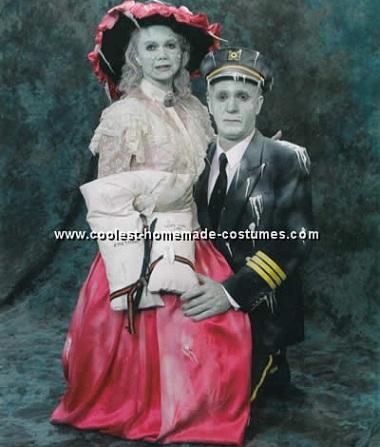 disfraces caseros adulto titanic