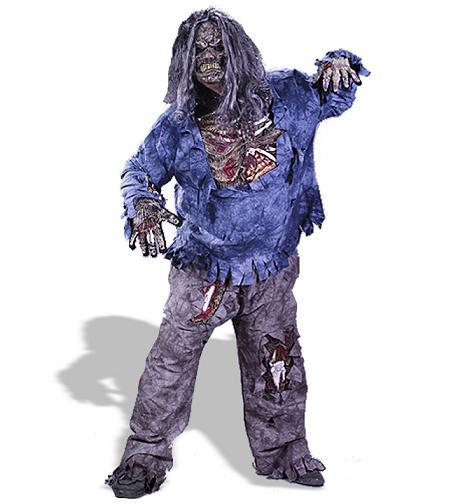 disfraces caseros halloween zombie