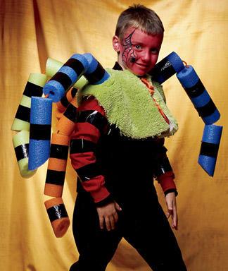 disfraces faciles halloween araña
