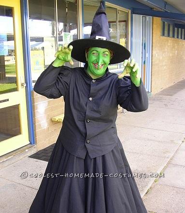 disfraces fáciles halloween bruja
