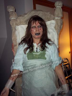 disfraces fáciles halloween niña exorcista
