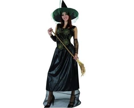disfraces halloween baratos bruja arana