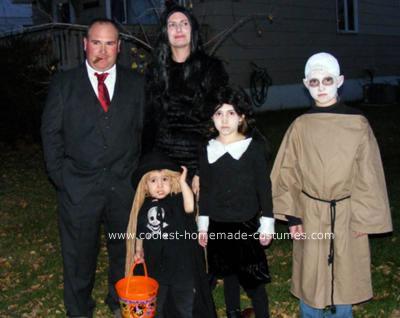 disfraces halloween caseros grupos addams