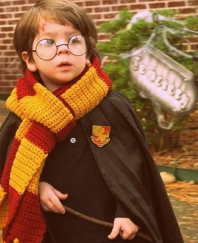 disfraces halloween caseros niños harry potter