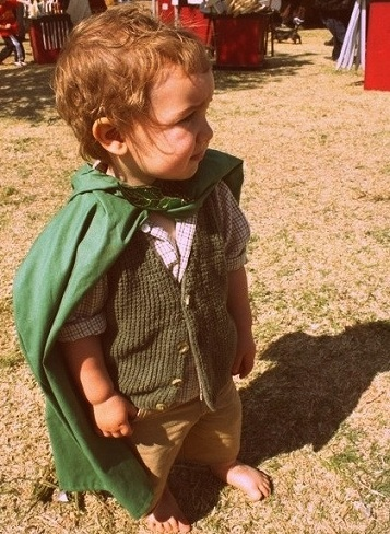 disfraces halloween caseros niños hobbit