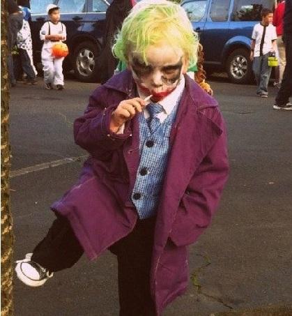 disfraces halloween caseros niños jocker