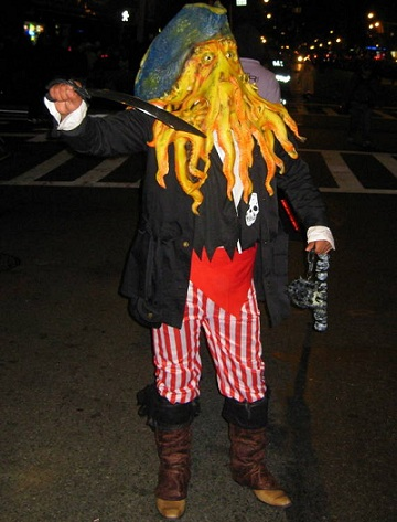 disfraces halloween caseros originales davy jones