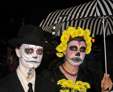 disfraces halloween caseros originales dia muertos