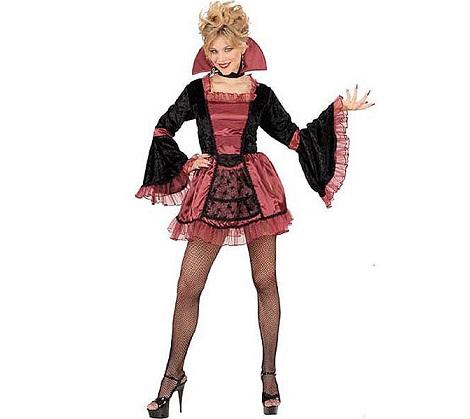 disfraces halloween chica vampiresa