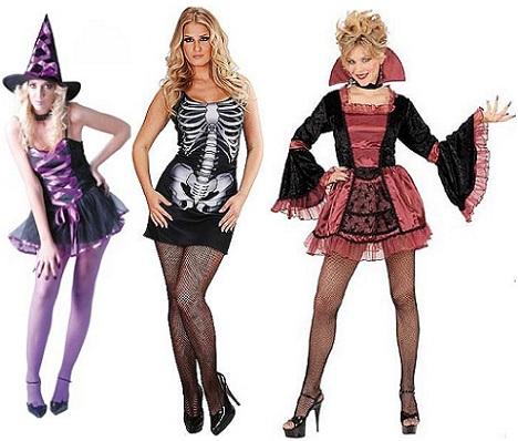 disfraces halloween chica