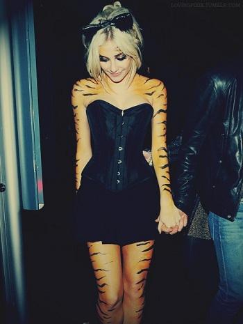 disfraces halloween faciles mujer tigresa