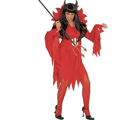 disfraz halloween mujer baratos diablesa