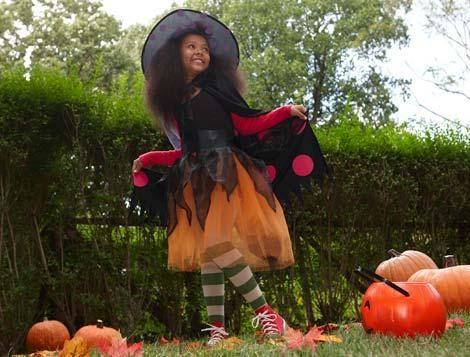 Disfraces de Halloween para niños bruja