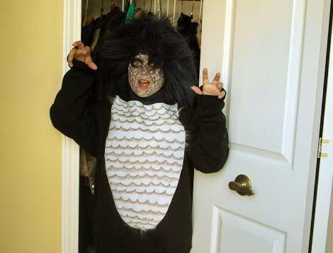 disfraces halloween niños monstruo