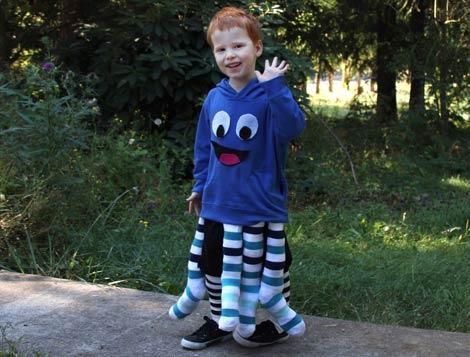 Disfraces de Halloween para niños pulpo