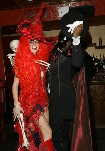 disfraces Halloween parejas bruja opera