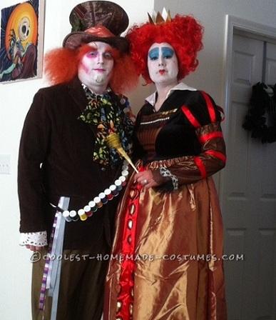 Disfraces de Halloween caseros para parejas alicia