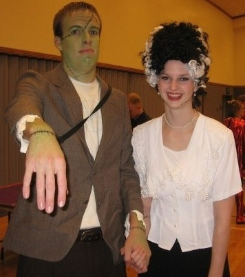 disfraces halloween parejas frankenstein