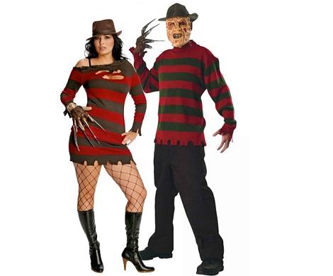 disfraces halloween parejas freddy kruger