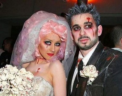 disfraces halloween parejas zombias