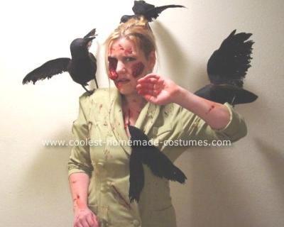 disfraces halloween peliculas pajaros