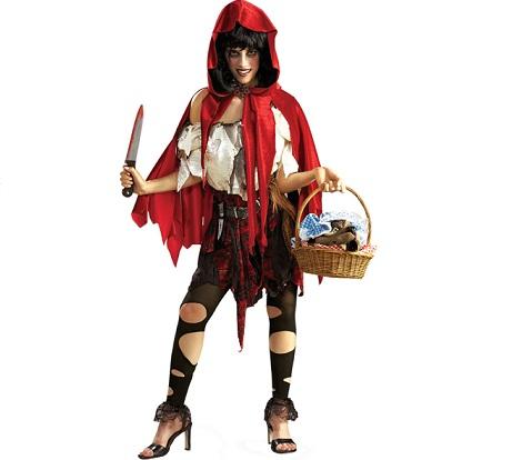 disfraces mujer originales caperucita sangrienta