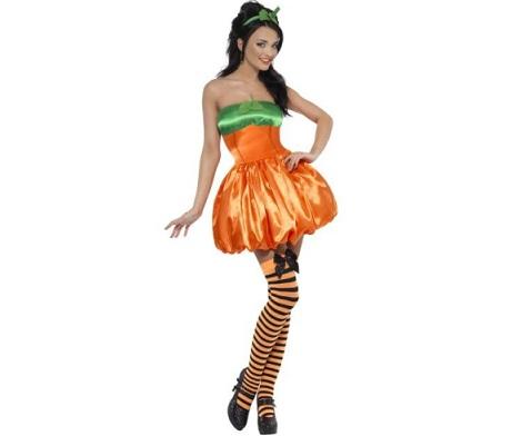 disfraces sexys halloween calabaza